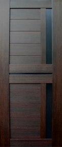 Дверь Твист (лакобель) венге