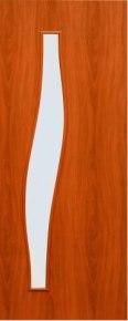 """Дверь 4с6 """"Волна"""" орех итальянский"""