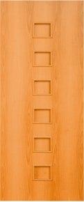 Дверь 4г1 «Квадрат» орех миланский