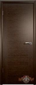 Дверь Рондо ПГ белёный дуб, венге венге