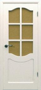 Дверь Классика ПО белая эмаль эмаль белая