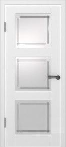 Дверь Трио ПО белая эмаль эмаль белая