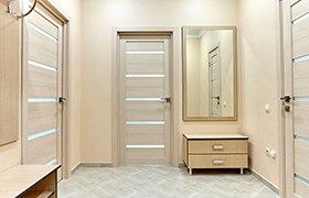 Межкомнатные двери цвета беленого дуба